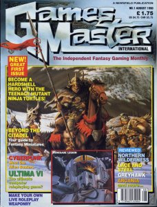 GamesMaster International August 1990
