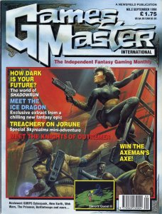 GamesMaster International September 1990