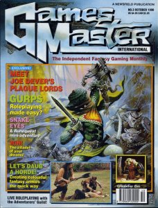 GamesMaster International October 1990