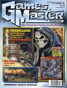 GamesMaster International November 1990