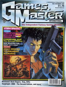 GamesMaster International December 1990