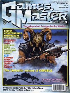 GamesMaster International January 1991