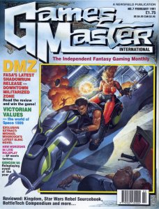 GamesMaster International February 1991